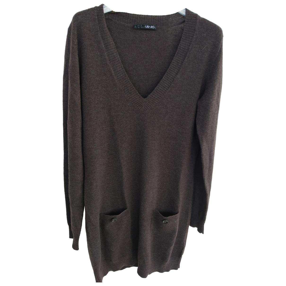 Liu.jo \N Brown Cashmere dress for Women 42 IT