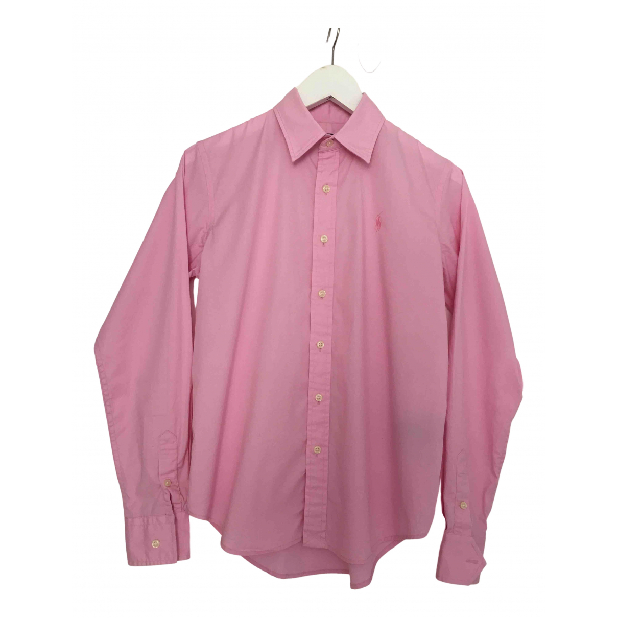 Non Signé / Unsigned \N Pink Cotton  top for Women 8 US