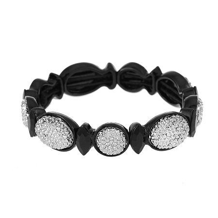 Mixit Stretch Bracelet, One Size , Black
