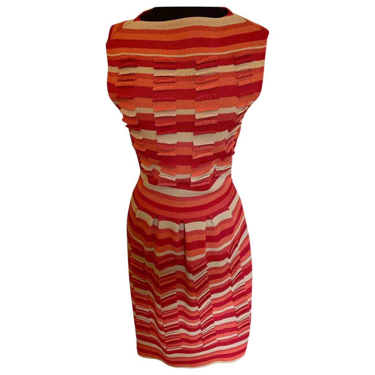 Dior \N Kleid in  Bunt Viskose