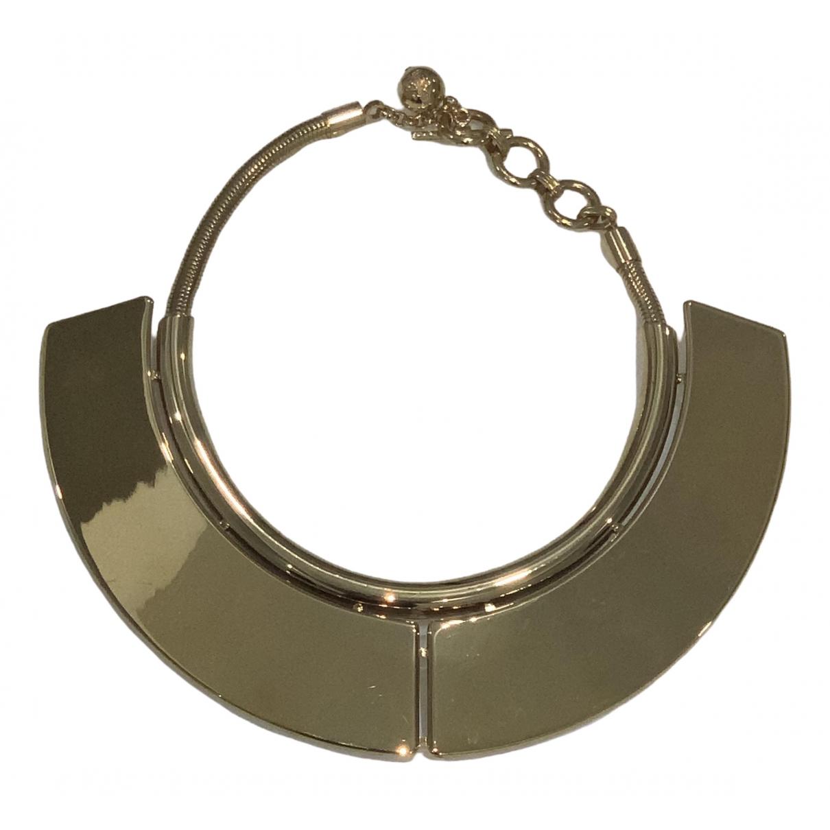 Lanvin - Collier   pour femme en plaque or - dore