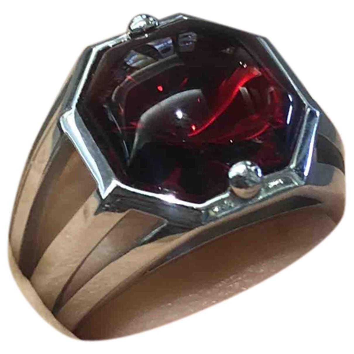 Baccarat - Bague   pour femme en argent - rouge