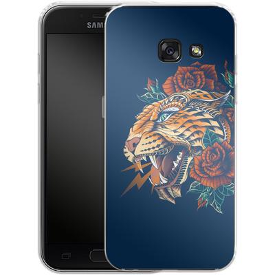 Samsung Galaxy A3 (2017) Silikon Handyhuelle - Ornate Leopard von BIOWORKZ