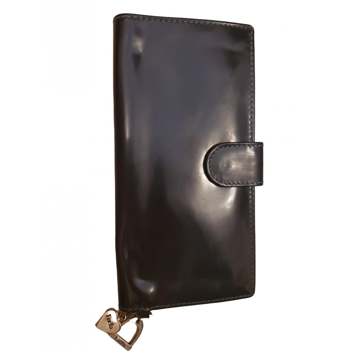 Luella \N Blue Leather wallet for Women \N