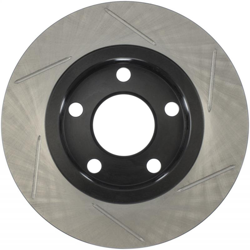 StopTech 126.33067SR Sport Slotted Brake Rotor; Rear Right Audi S4 Rear Right 2000-2002