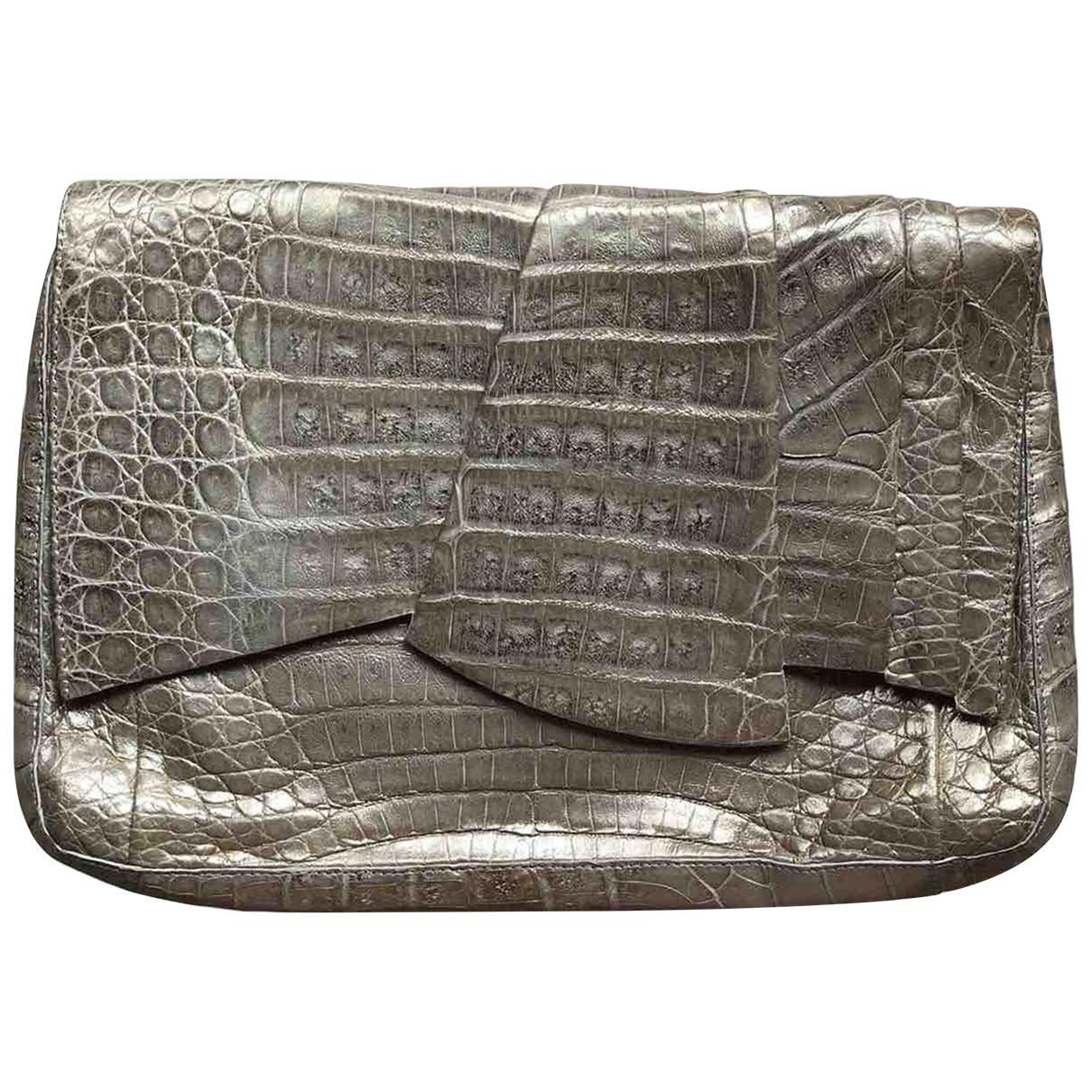Nancy Gonzalez \N Leather Clutch bag for Women \N