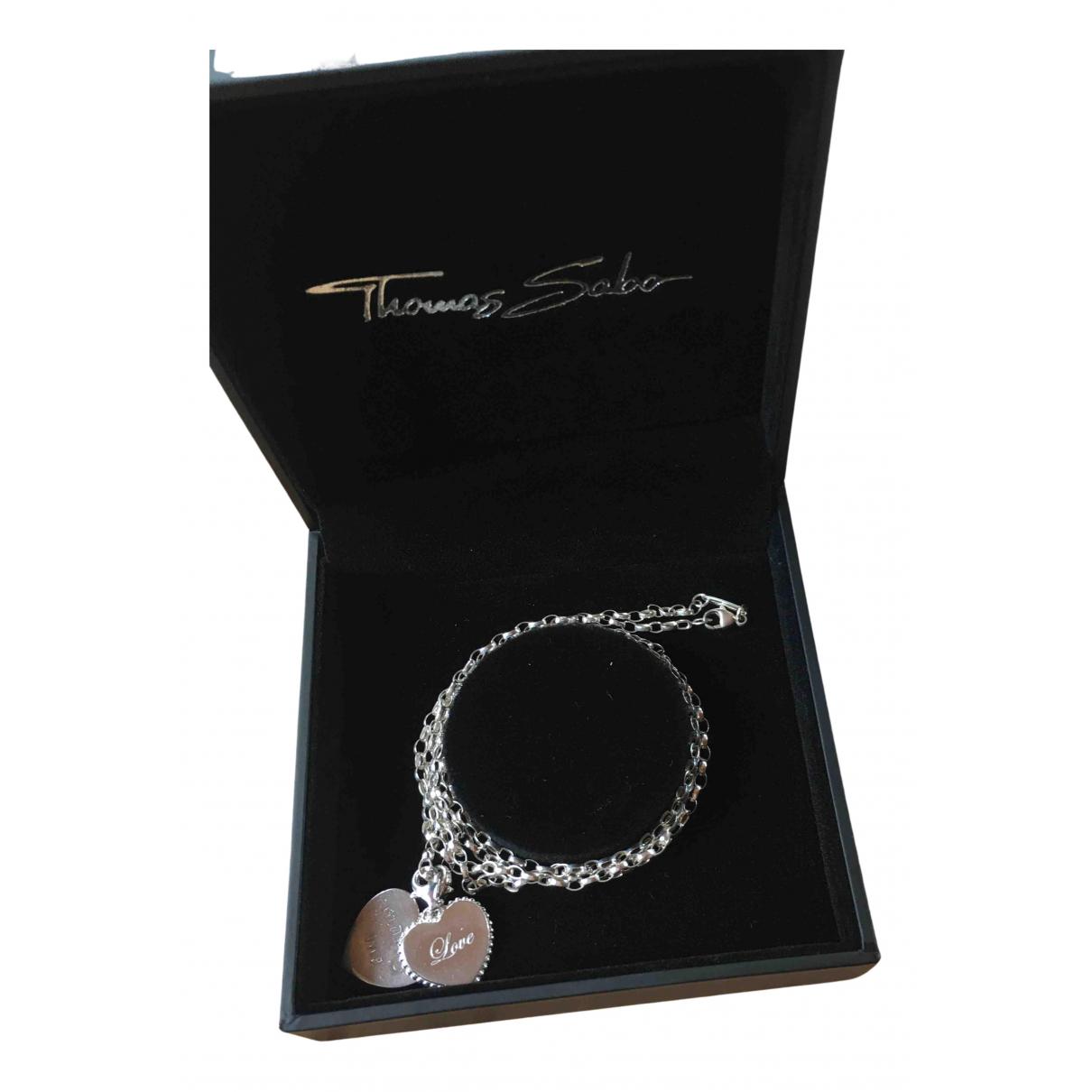 Thomas Sabo \N Halskette in  Silber Silber