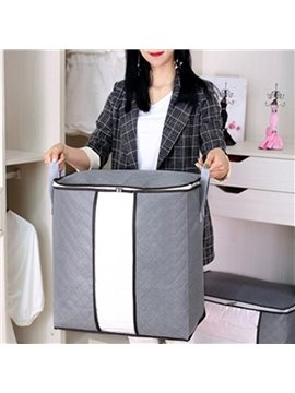 Non-Woven Fabric Storage Bag Waterproof Mildew Proof Bedroom Storage for Quilt Cloth Duvet Cover Sets