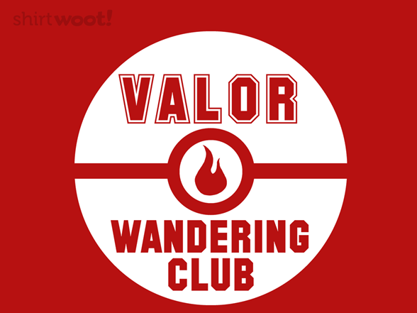 Valor Wandering Club T Shirt