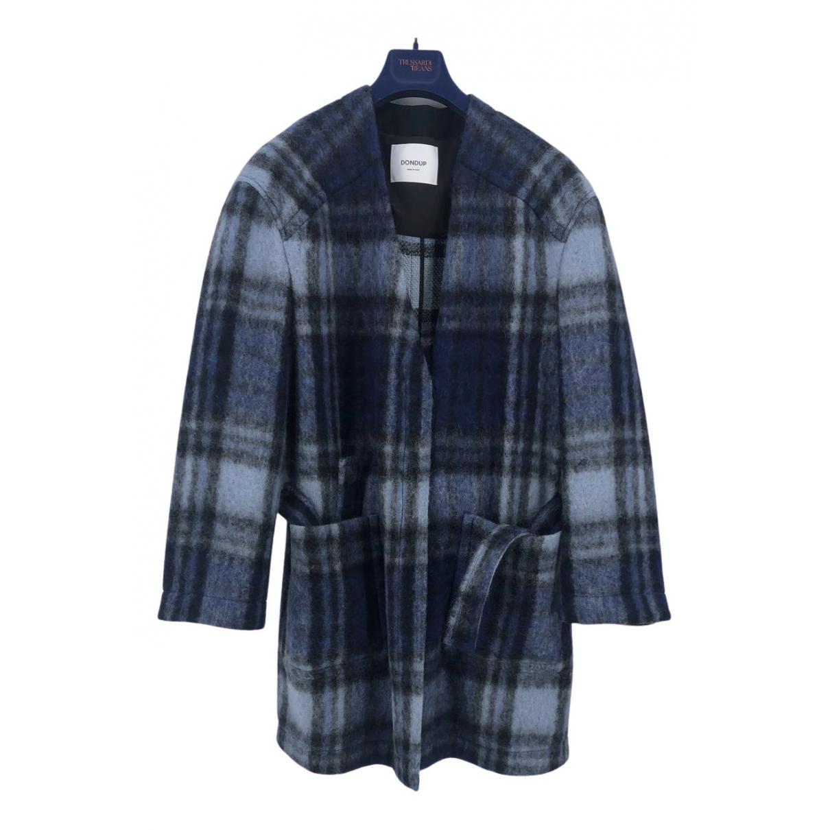 Dondup - Manteau   pour femme - bleu