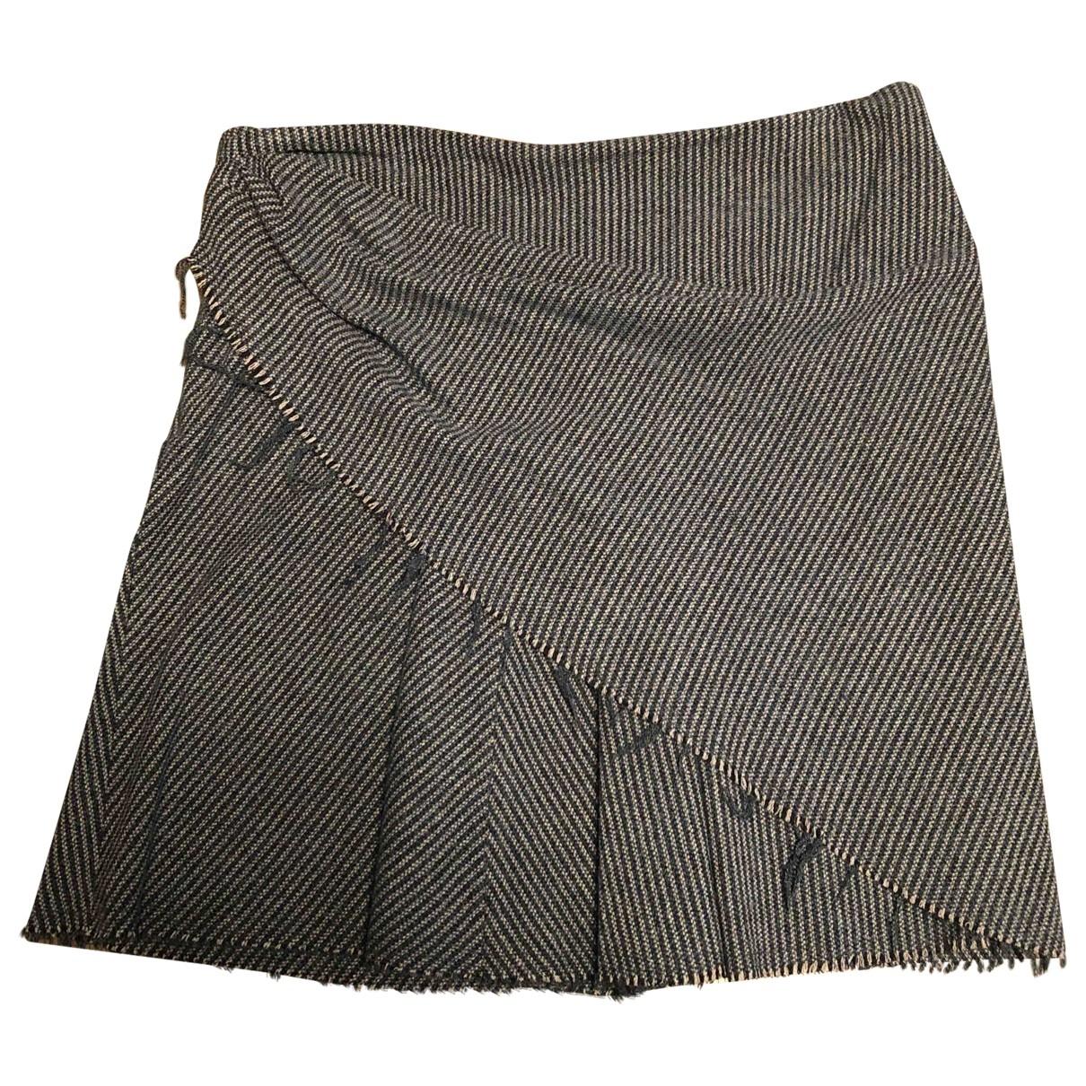 Isabel Marant Etoile - Jupe   pour femme en laine - bleu