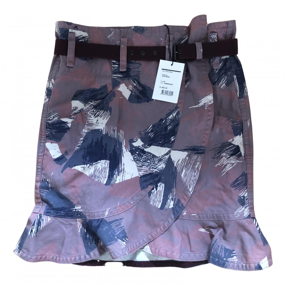 Mini falda de Lino Isabel Marant Etoile