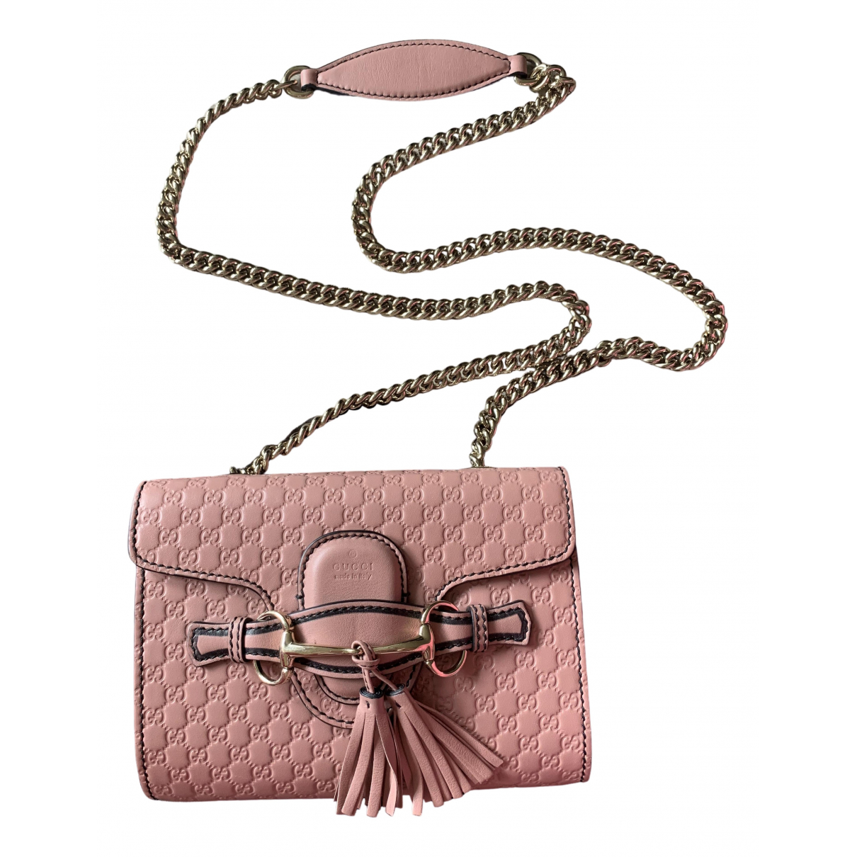 Gucci Emily Pink Leather handbag for Women \N