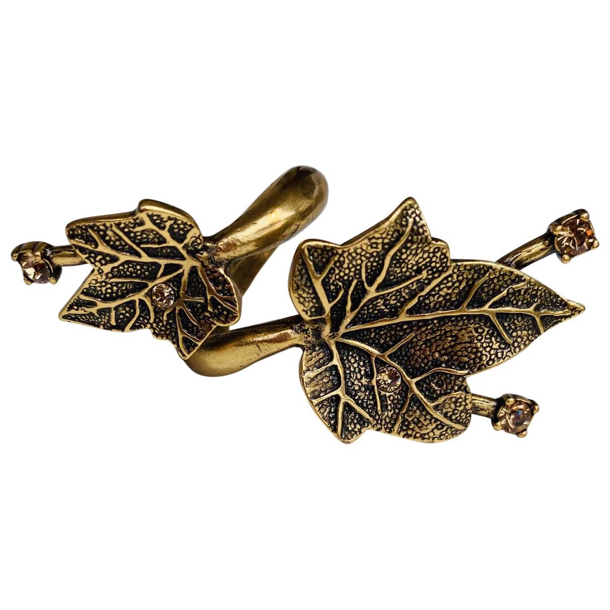 Oscar De La Renta \N Ring in  Gold Vergoldet