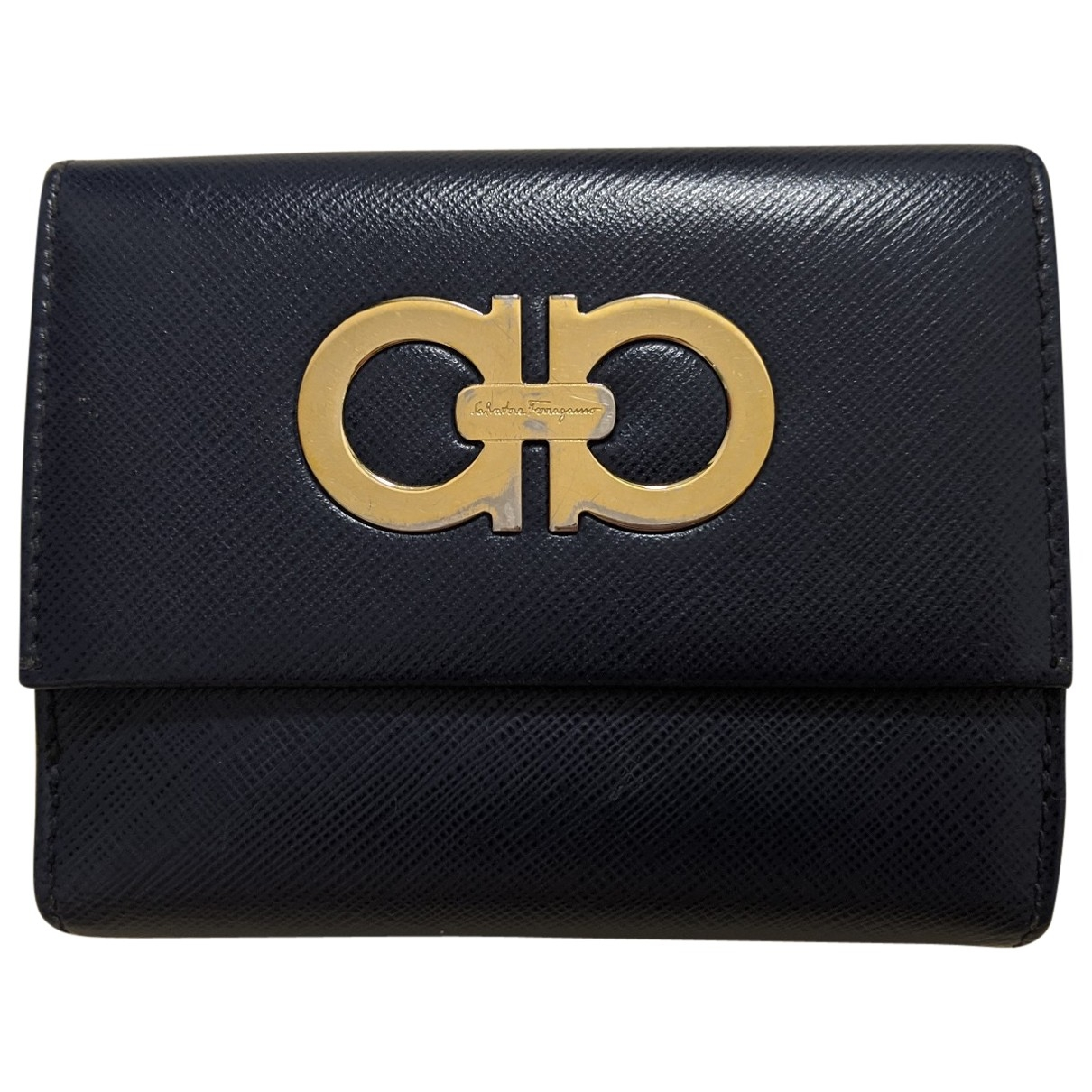 Salvatore Ferragamo \N Navy Leather wallet for Women \N