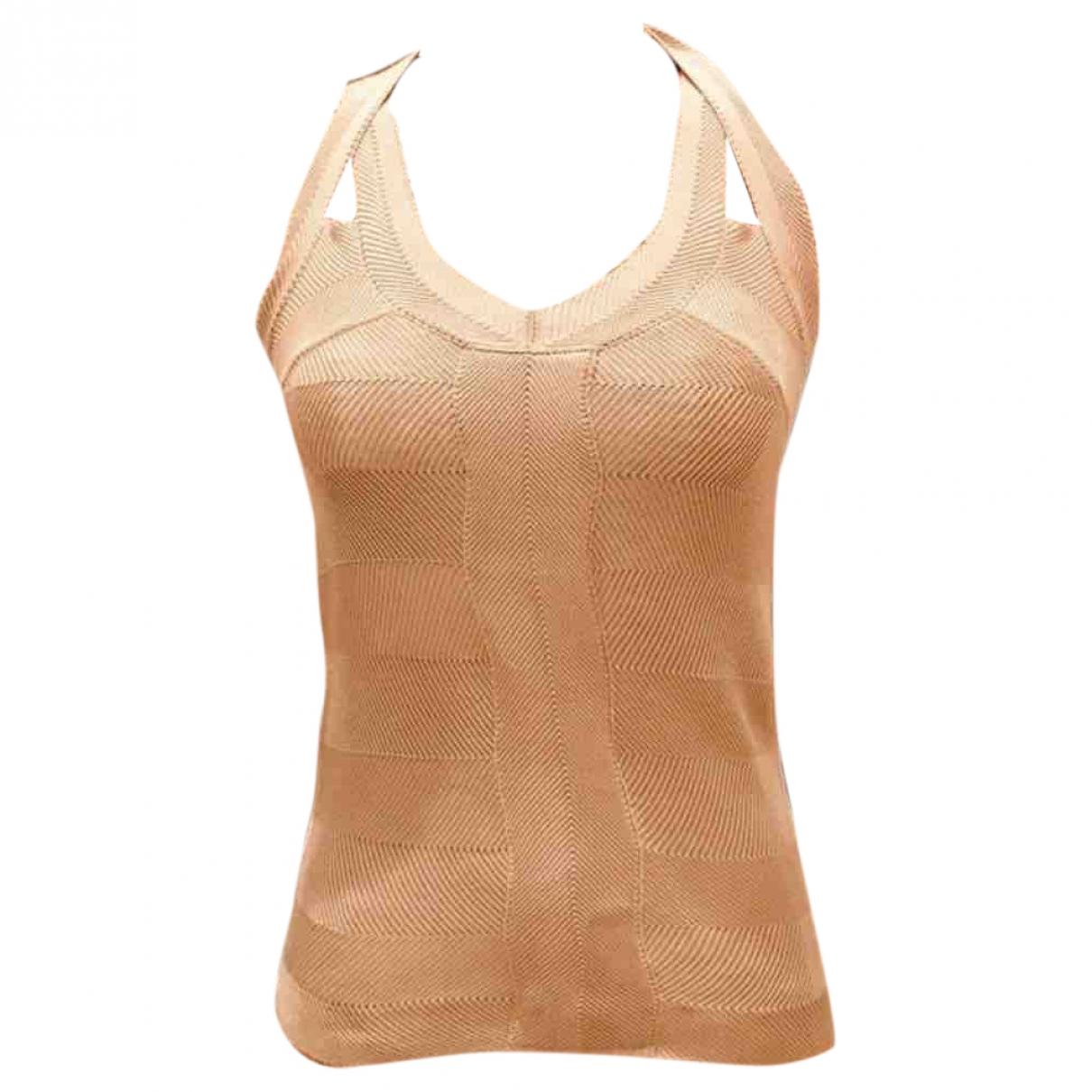 Dior - Top   pour femme en soie - ecru