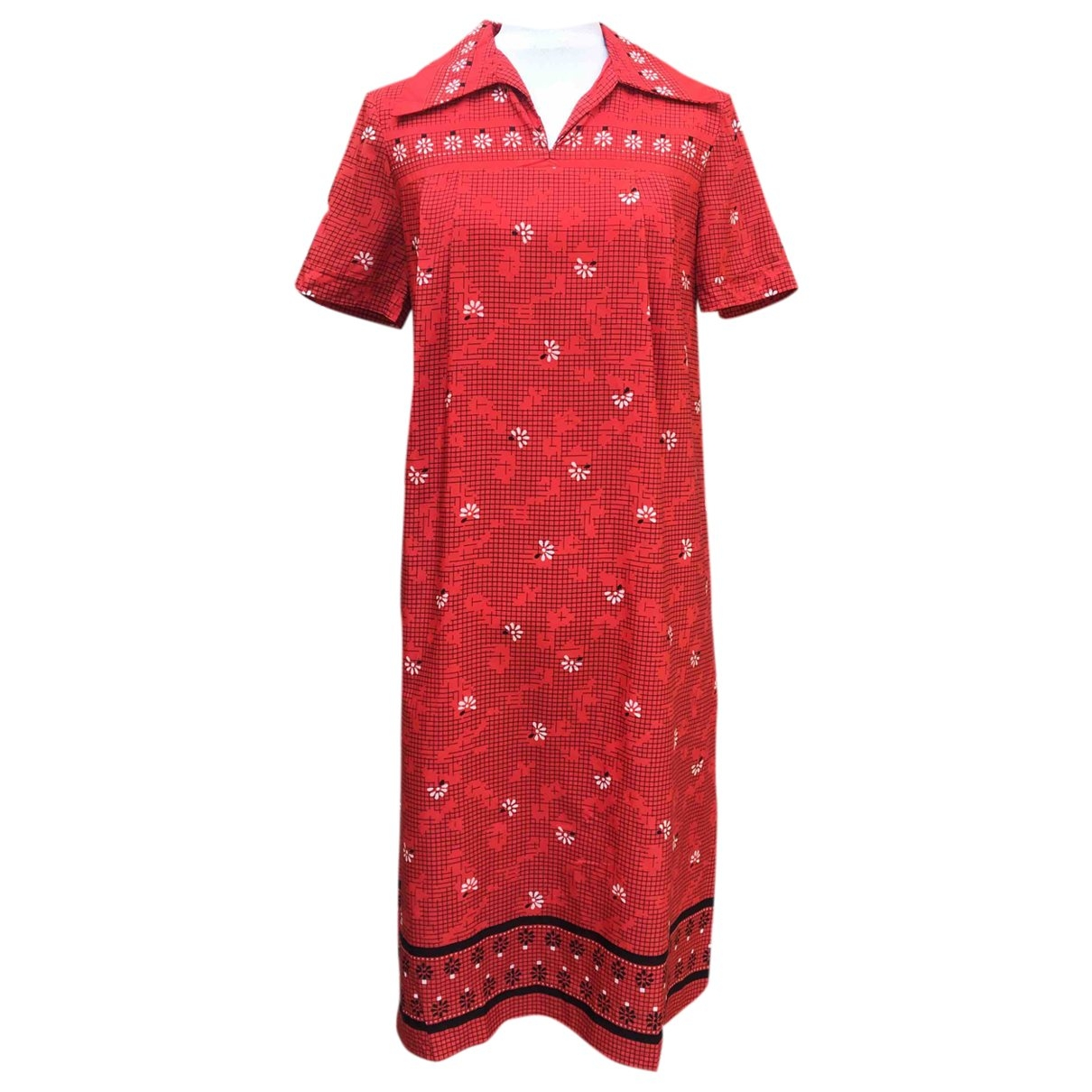 Non Signé / Unsigned \N Red dress for Women 46 IT