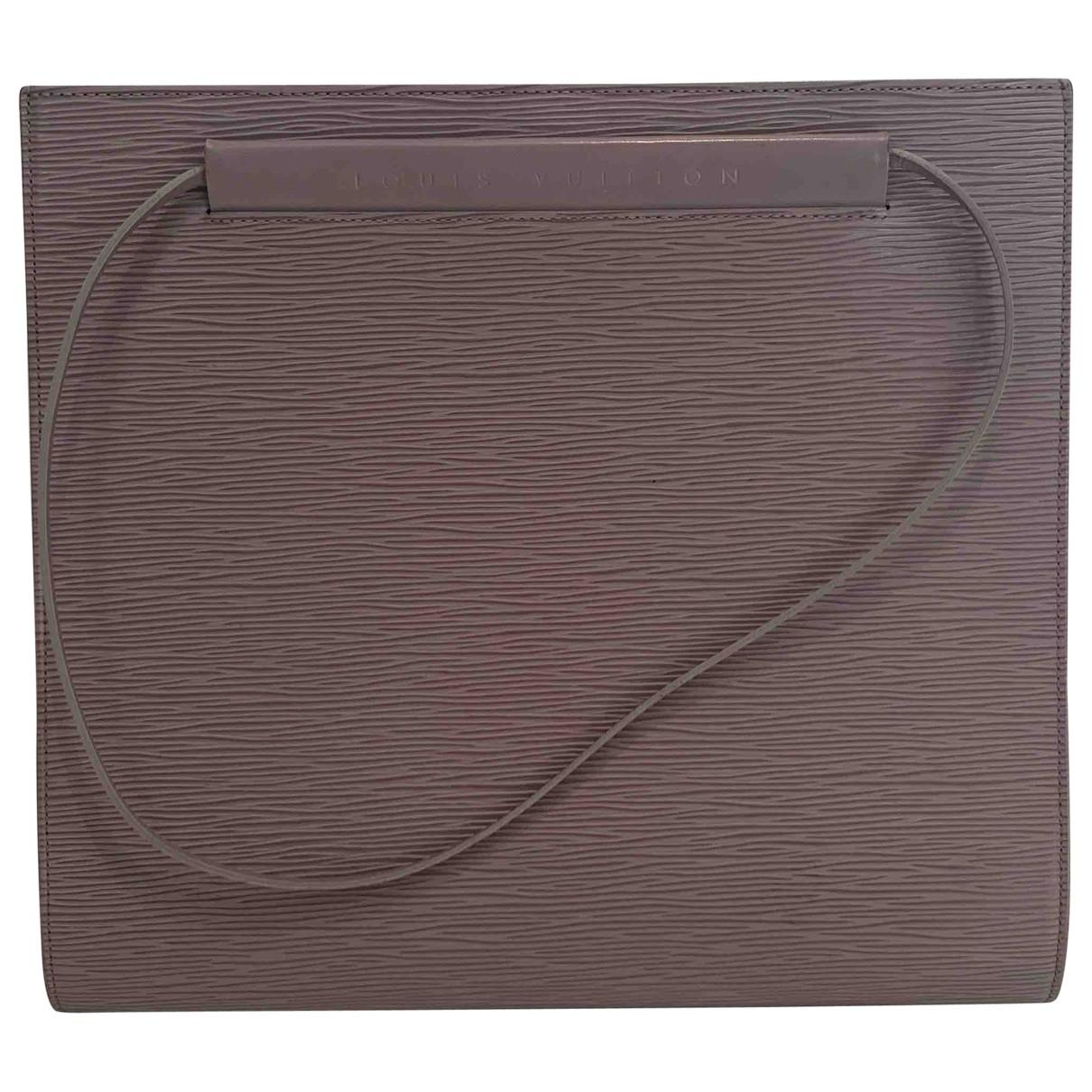 Louis Vuitton - Sac a main   pour femme en cuir - gris