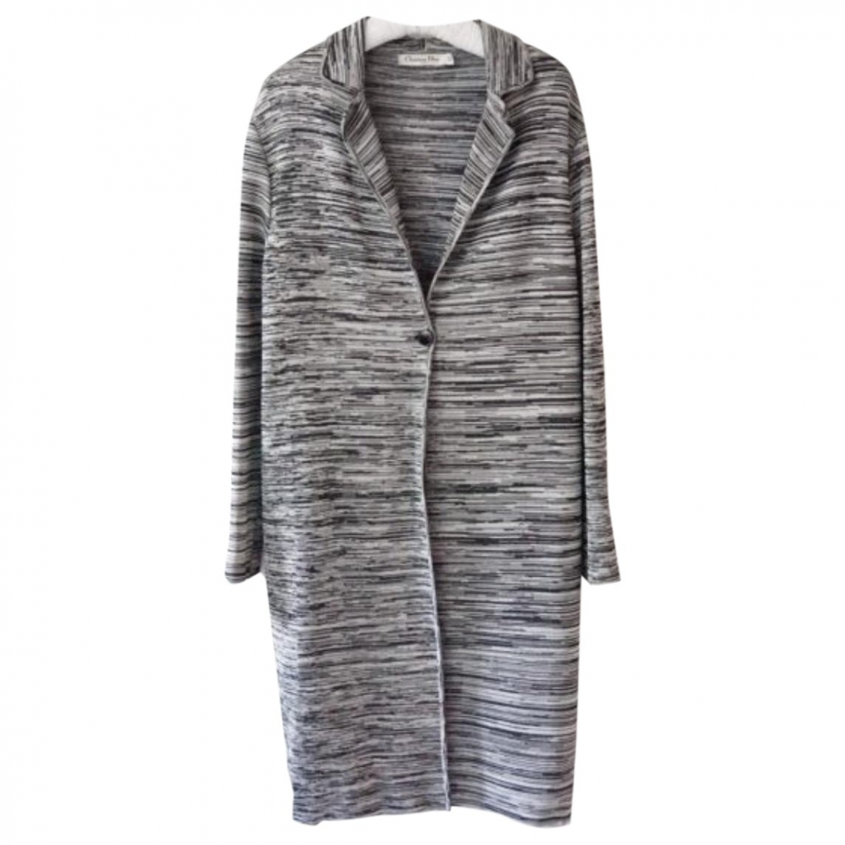 Dior N Grey Knitwear for Women 42 FR
