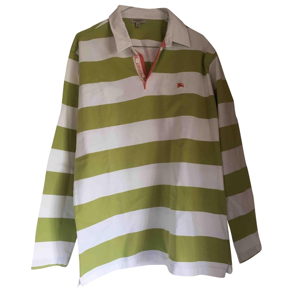 Burberry - Polos   pour homme en coton - multicolore