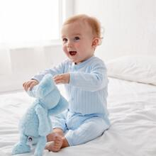 Baby Boy Letter Patched Jumpsuit