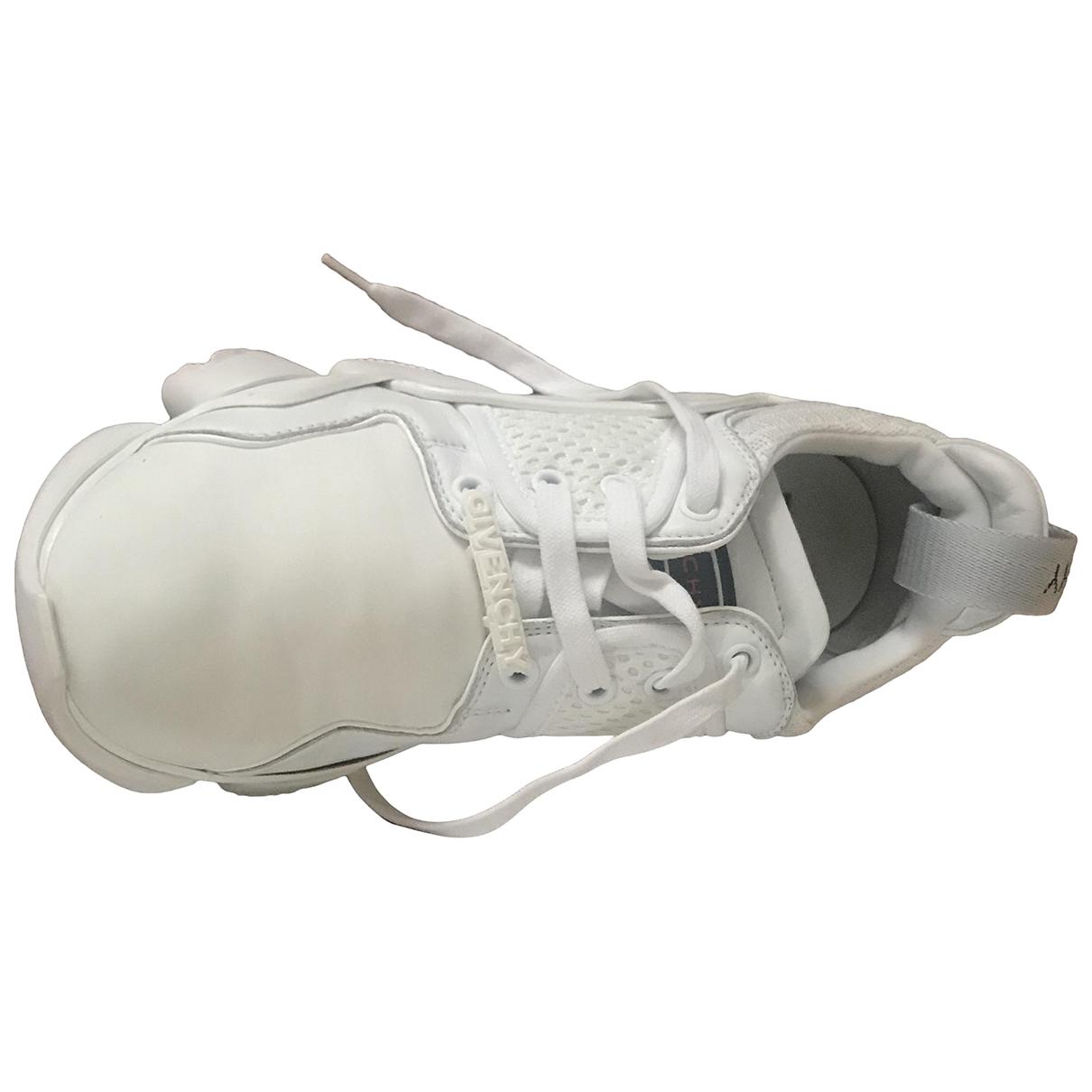 Givenchy - Baskets   pour femme en toile - blanc