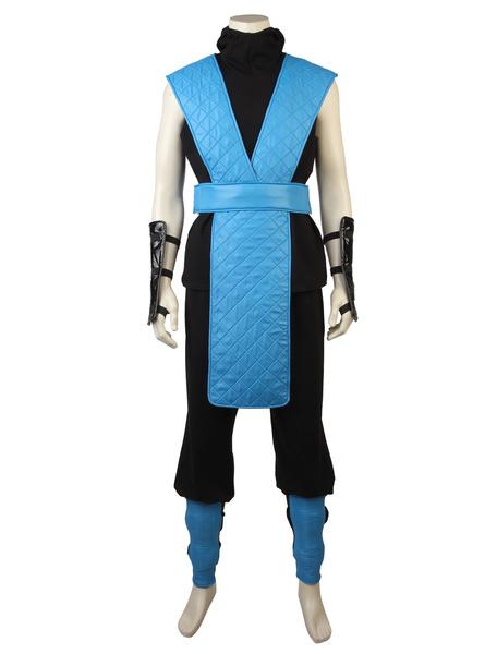 Milanoo Mortal Kombat X Sub-Zero Halloween Cosplay Costume