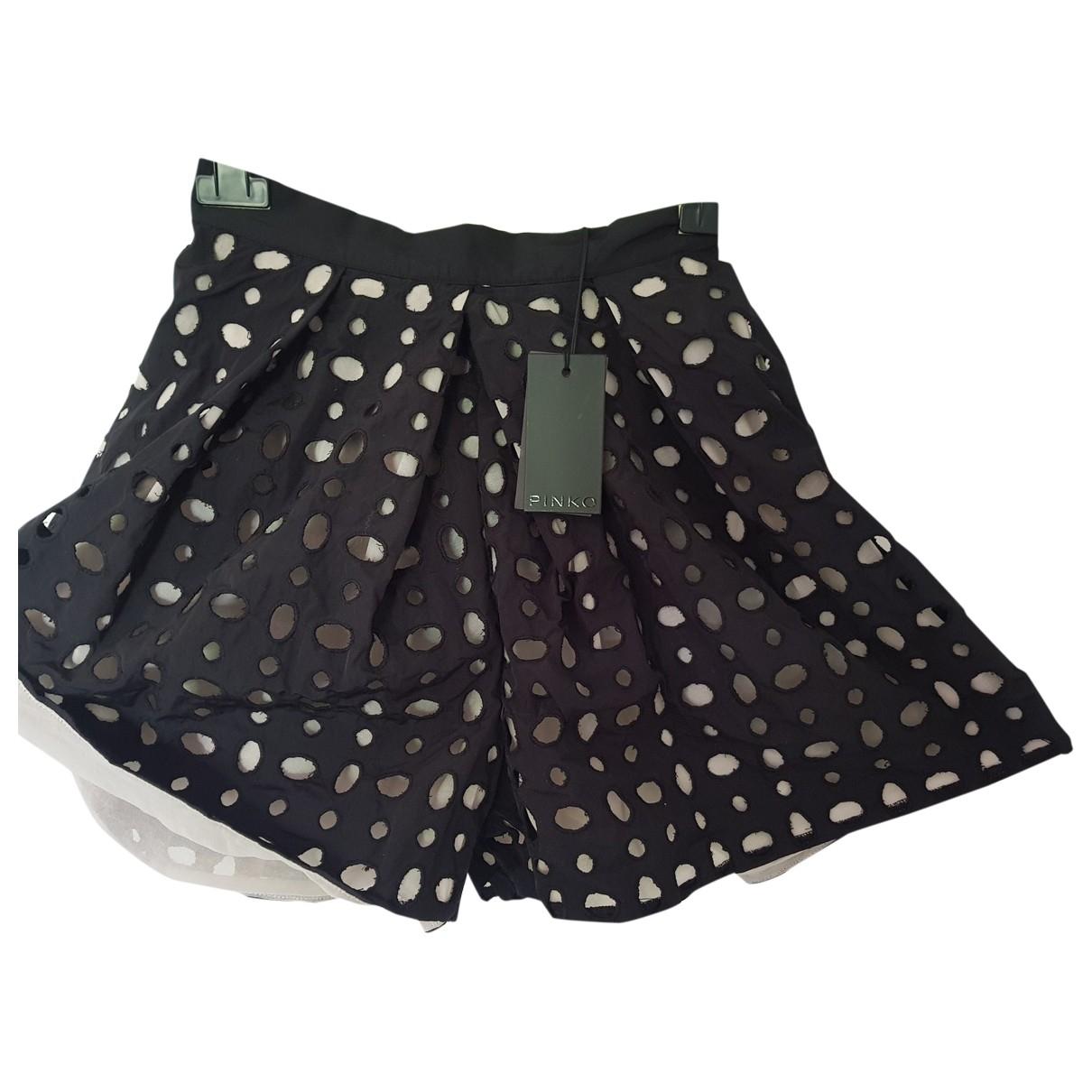 Pinko - Short   pour femme - noir