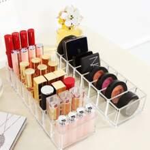 1 Stueck Transparente Aufbewahrungsbox fuer Kosmetik