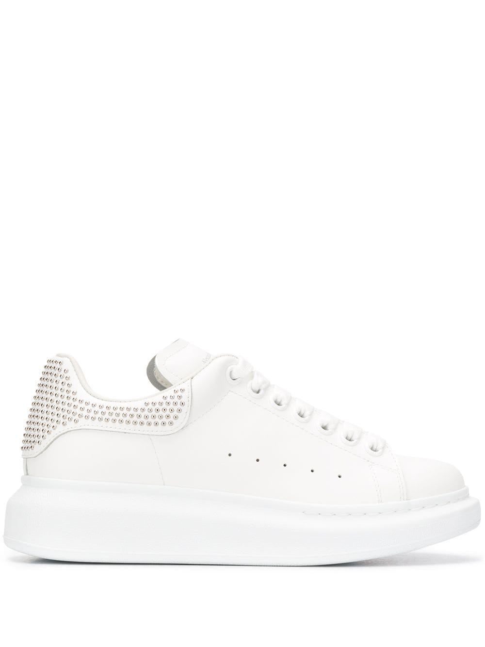 Leather Sneakers With Studs