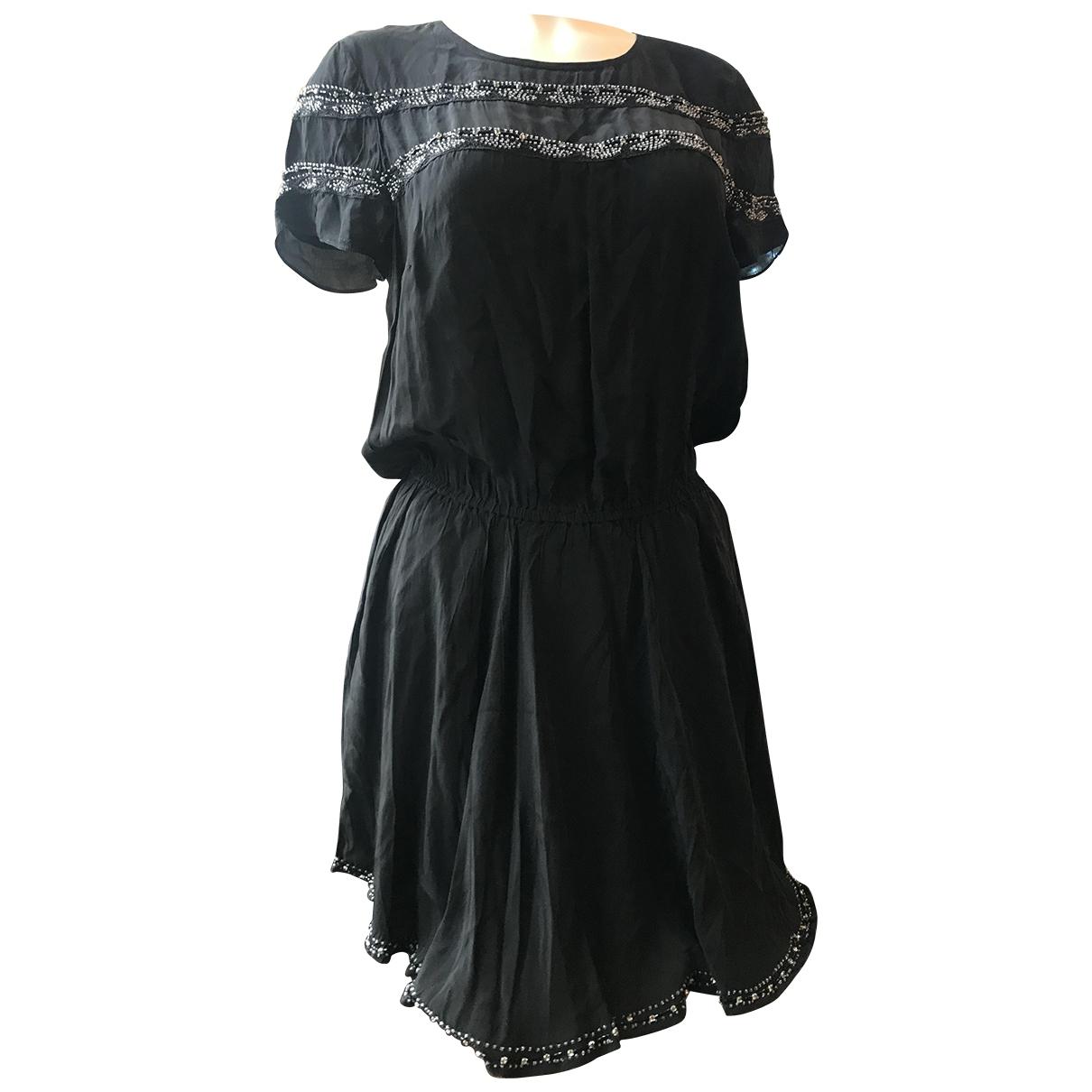Zadig & Voltaire \N Kleid in  Schwarz Mit Pailletten