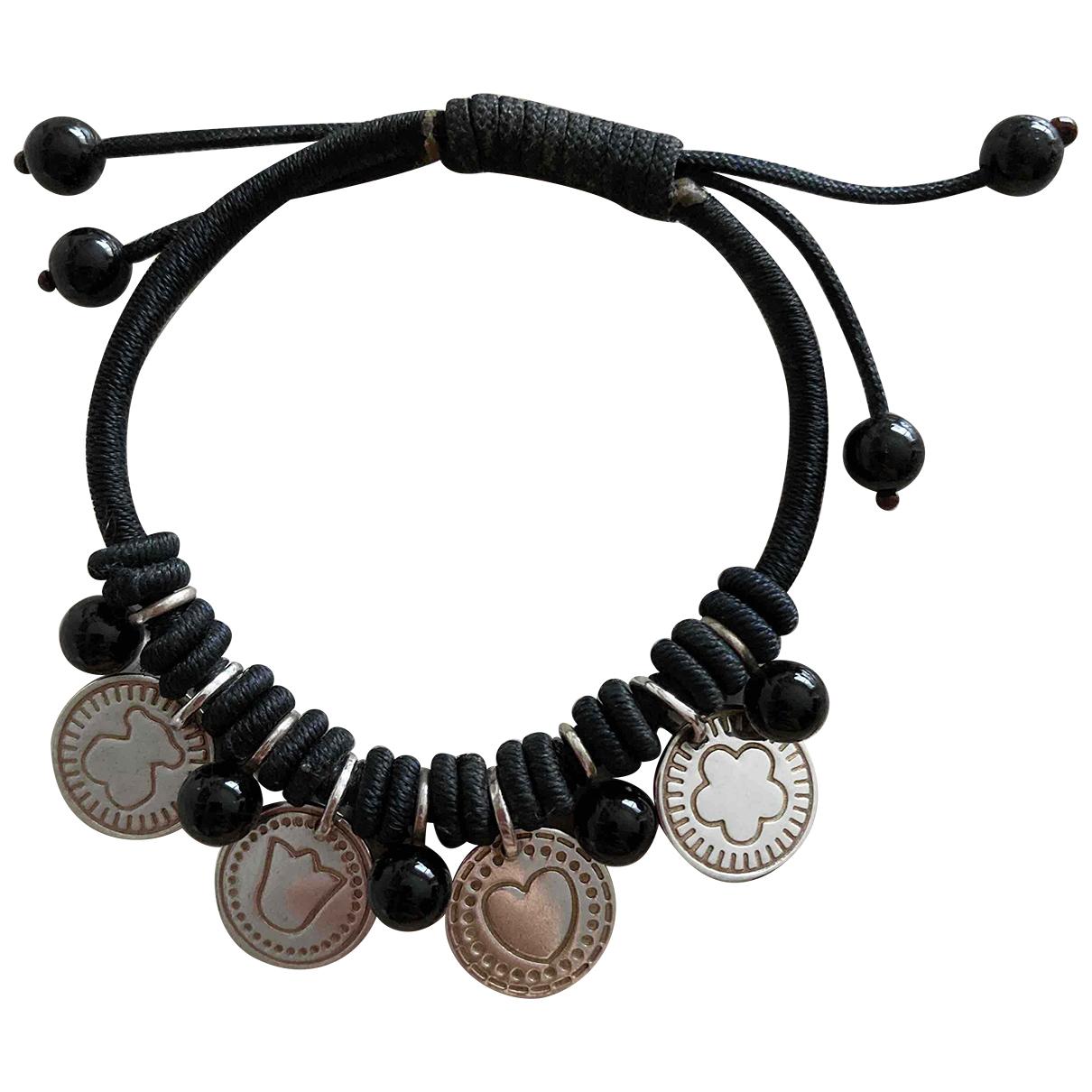 Atelier Tous \N Armband in  Schwarz Silber