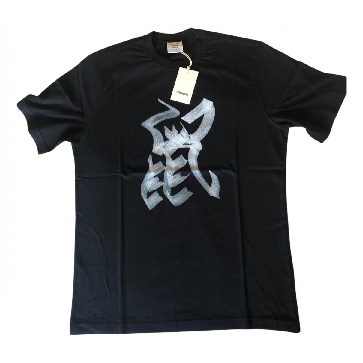 Vetements - Top   pour femme en coton - noir