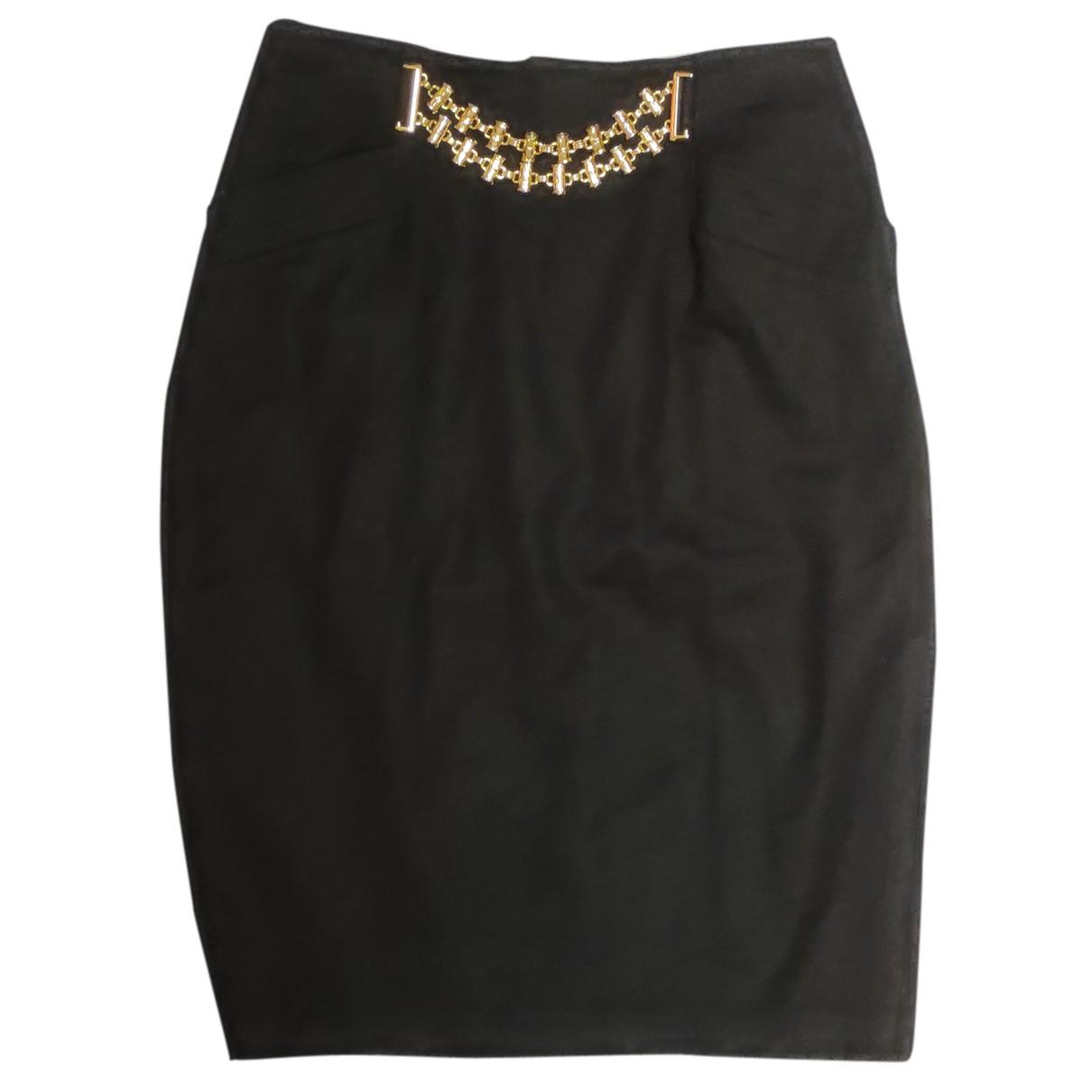 Burberry N Black Wool skirt for Women 40 FR