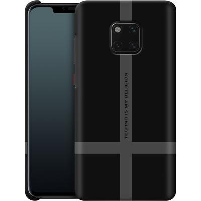 Huawei Mate 20 Pro Smartphone Huelle - TECHNO IS MY RELIGION  von Berlin Techno Collective