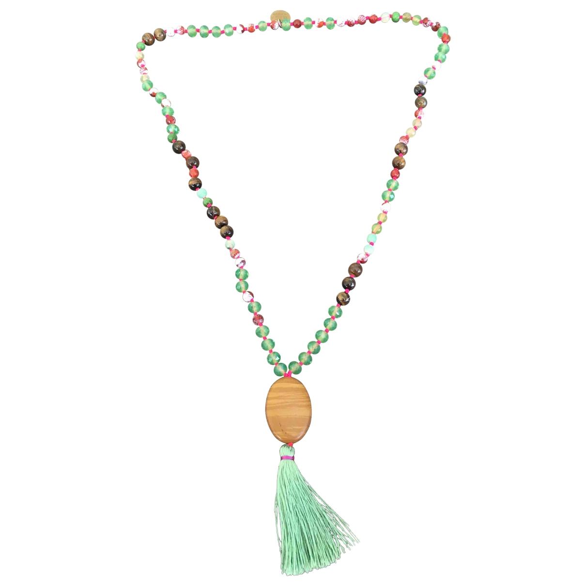 Maliparmi - Collier   pour femme en verre - vert