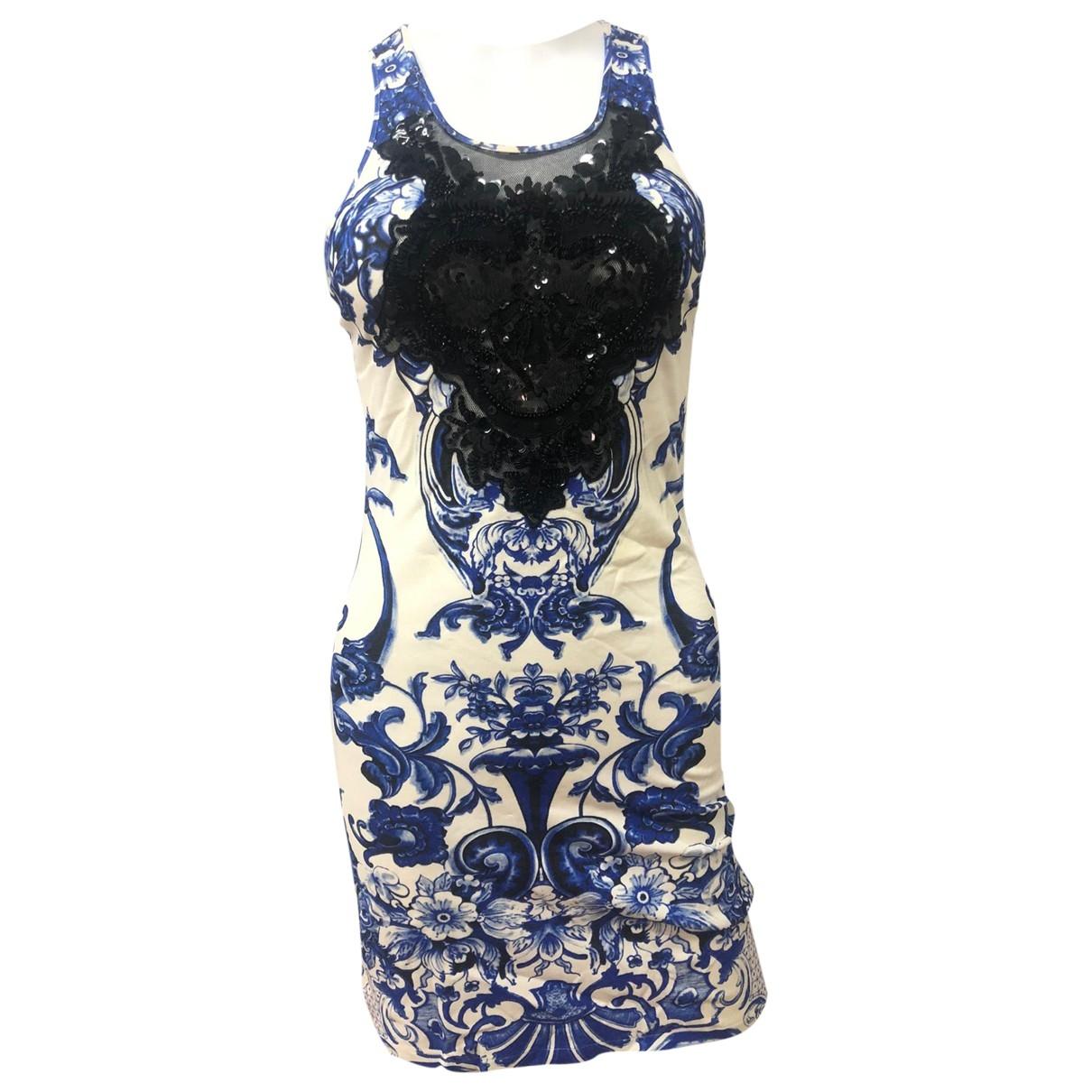 Roberto Cavalli - Robe   pour femme - bleu