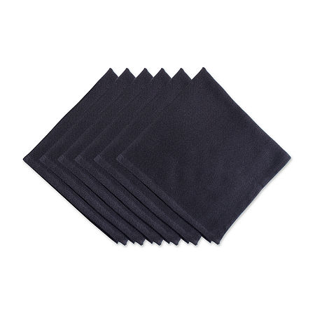 Design Imports 6-pc. Napkins, One Size , Black