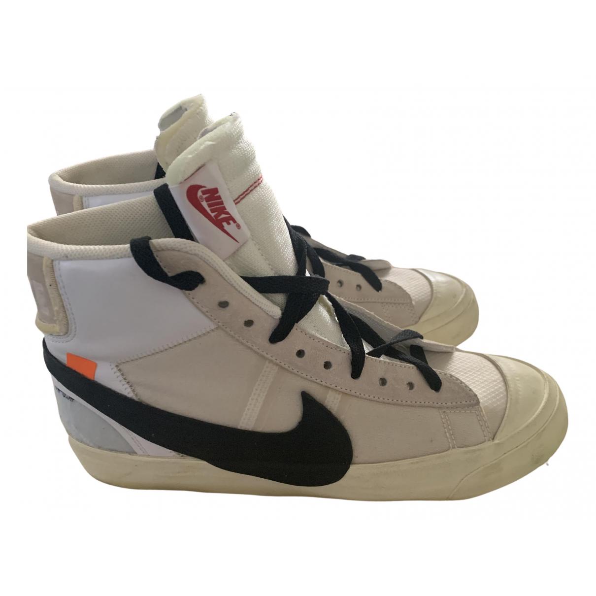Deportivas Blazer Mid de Lona Nike X Off-white