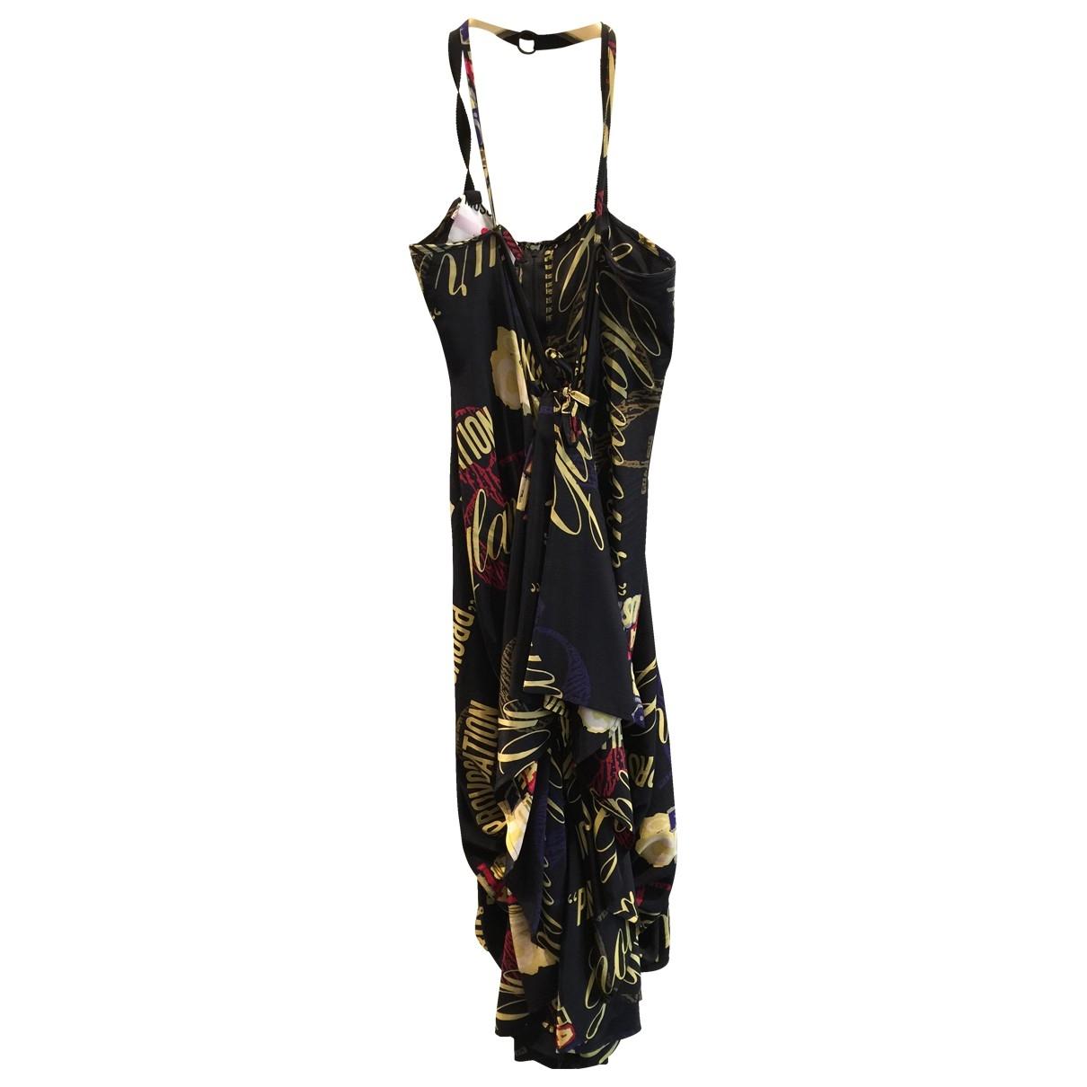Moschino \N Kleid in  Bunt Seide