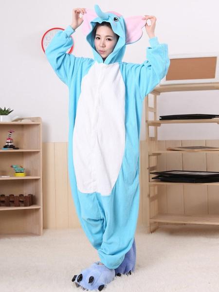 Milanoo Disfraz Halloween Lindo elefante azul Kigurumi vestuario Halloween
