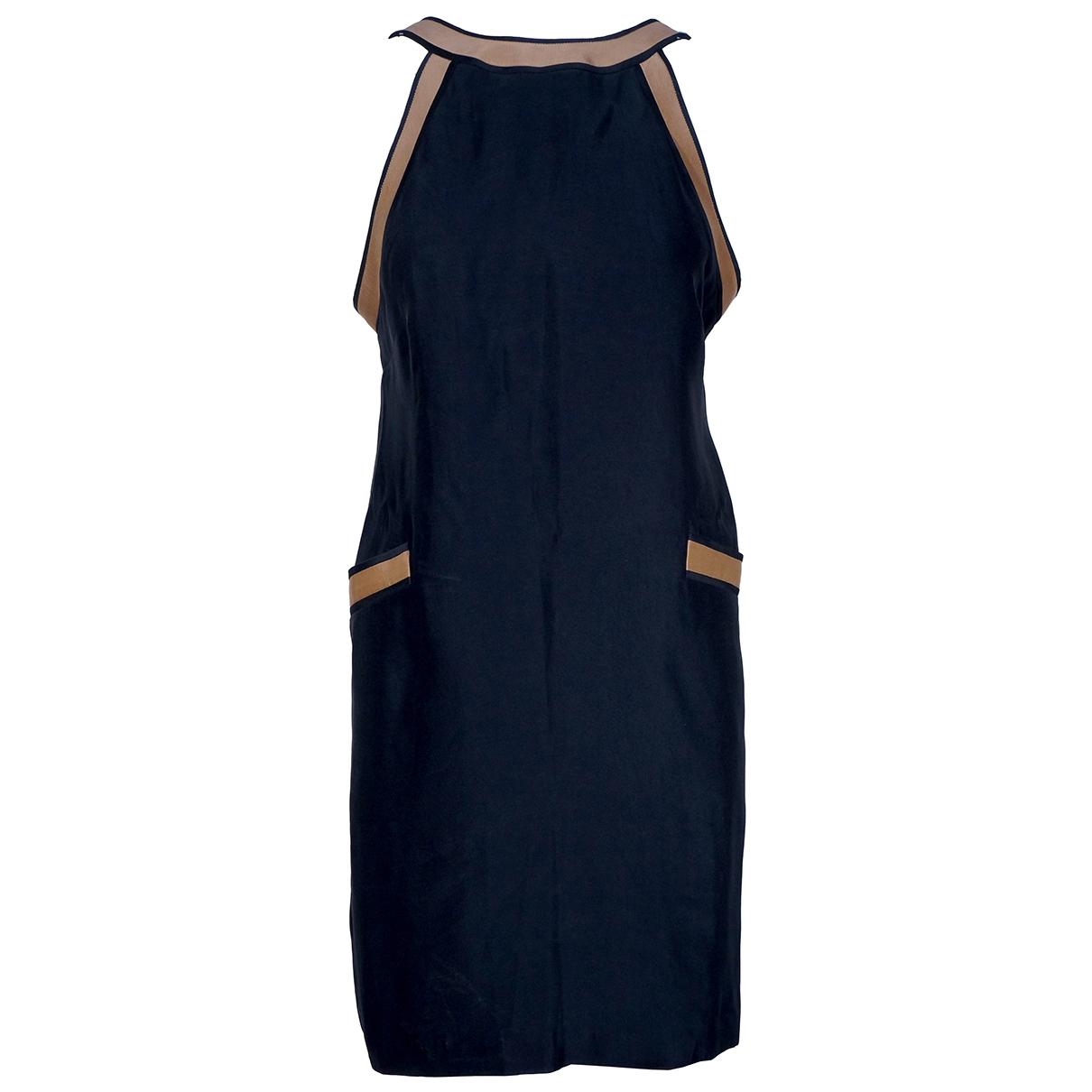 Martin Grant \N Kleid in  Schwarz Baumwolle