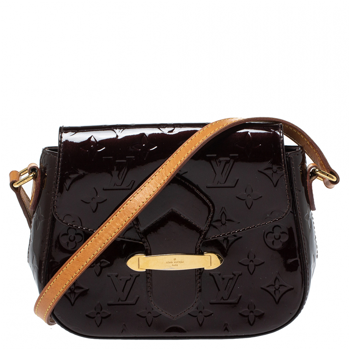 Louis Vuitton \N Handtasche in Lackleder