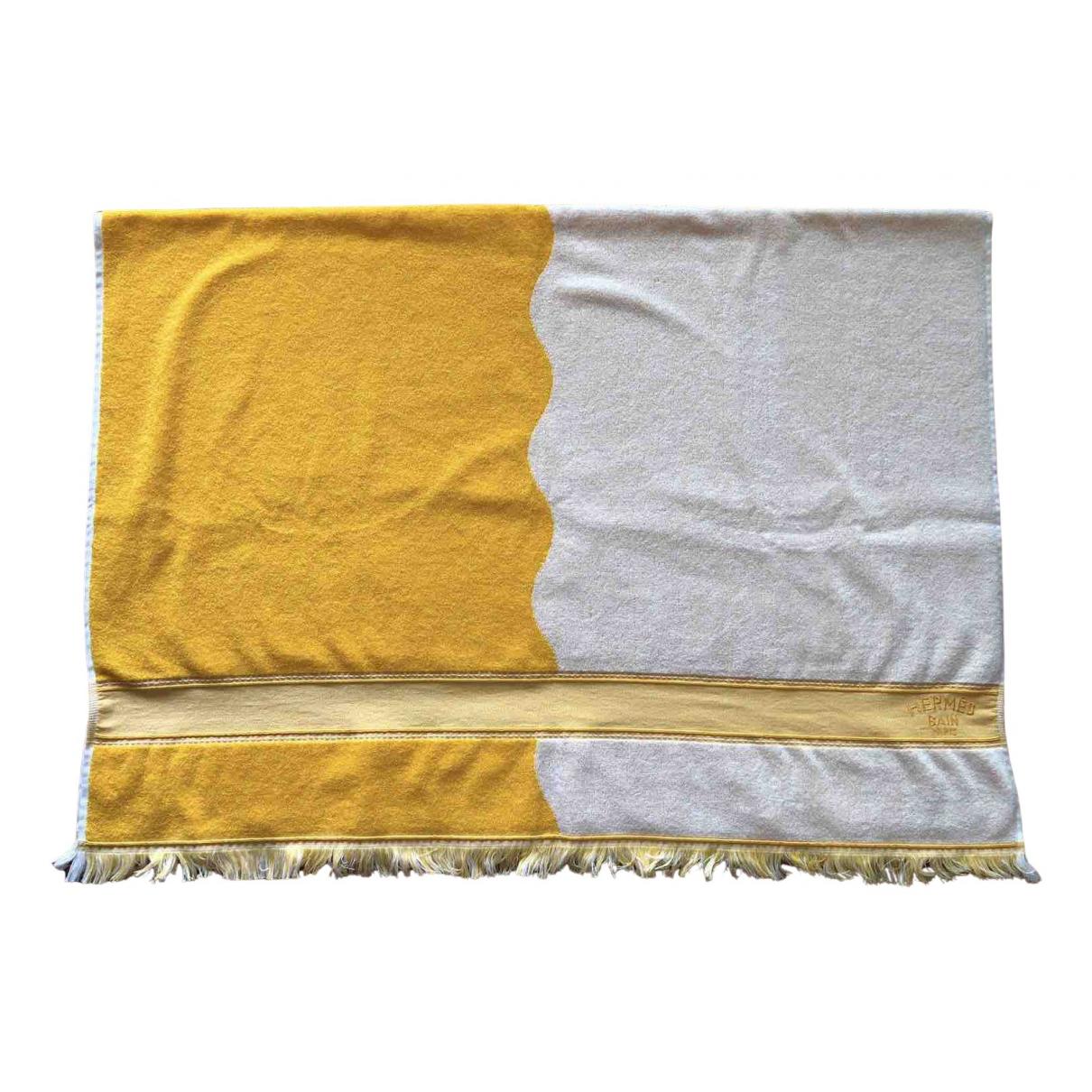 Hermes - Linge de maison   pour lifestyle en coton - jaune