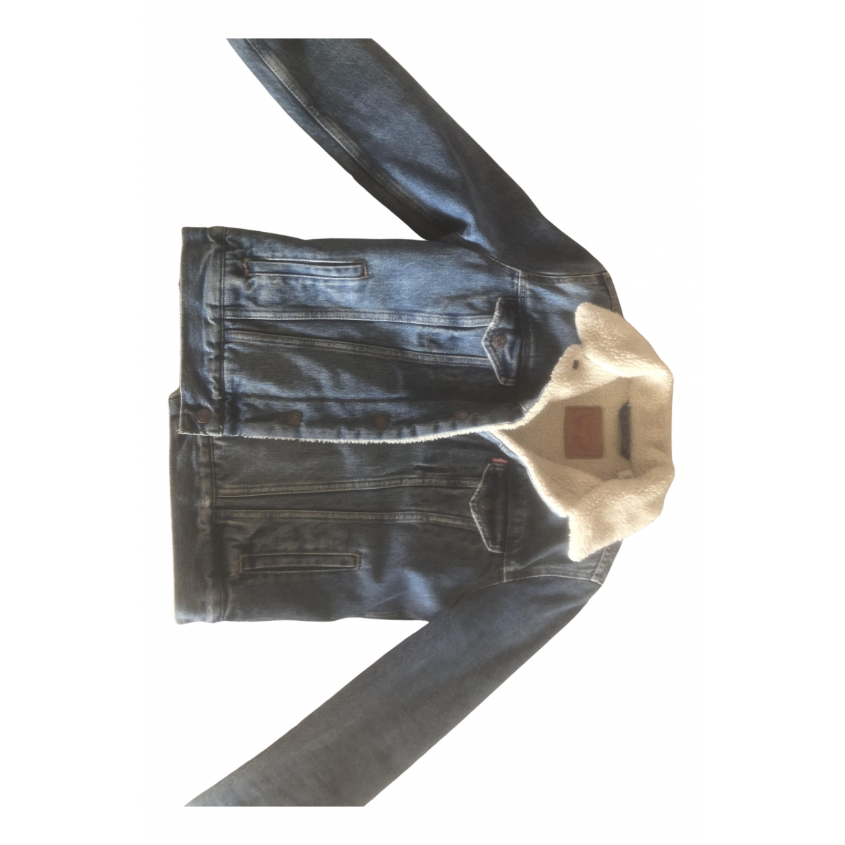 Levi's N Blue Denim - Jeans jacket for Women 34 FR