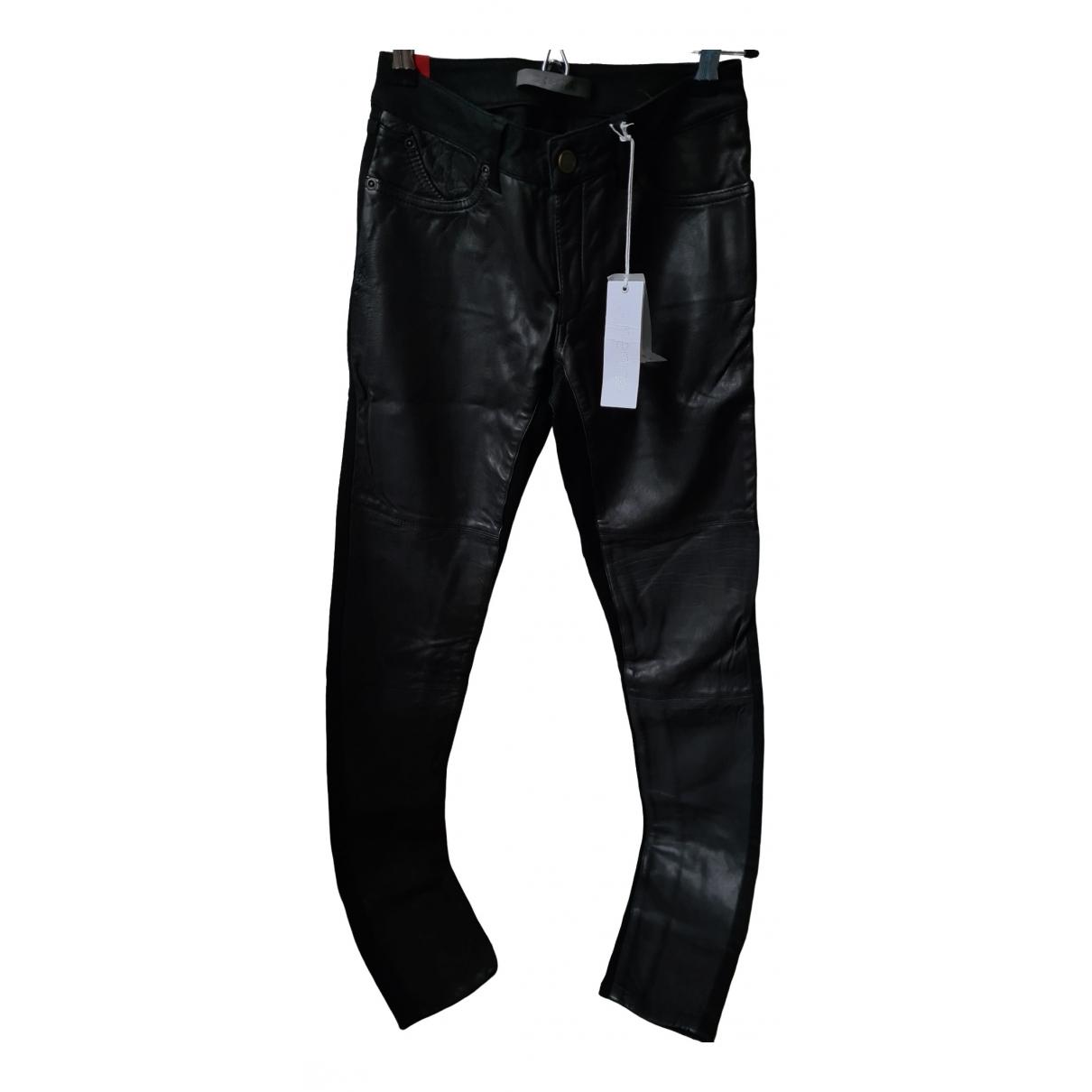 Pantalon de traje de Cuero Superfine