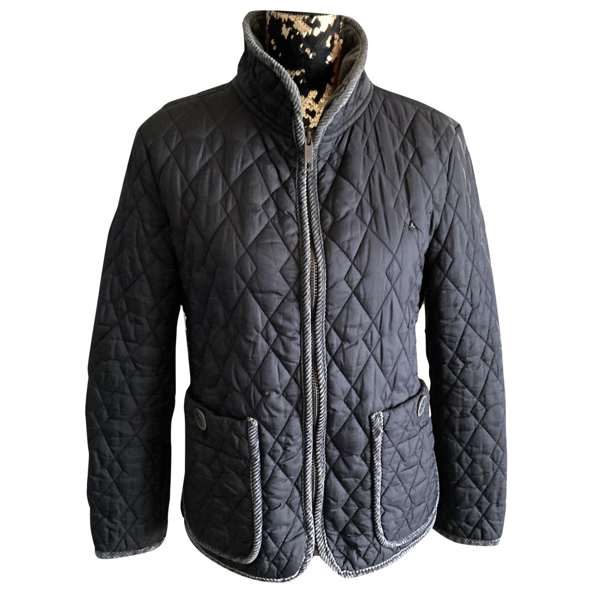 Burberry \N Black jacket for Women L International