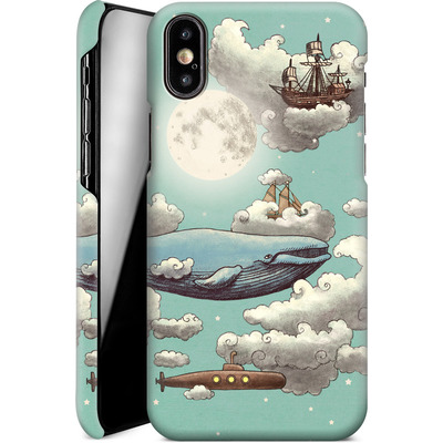 Apple iPhone XS Smartphone Huelle - Ocean Meets Sky von Terry Fan