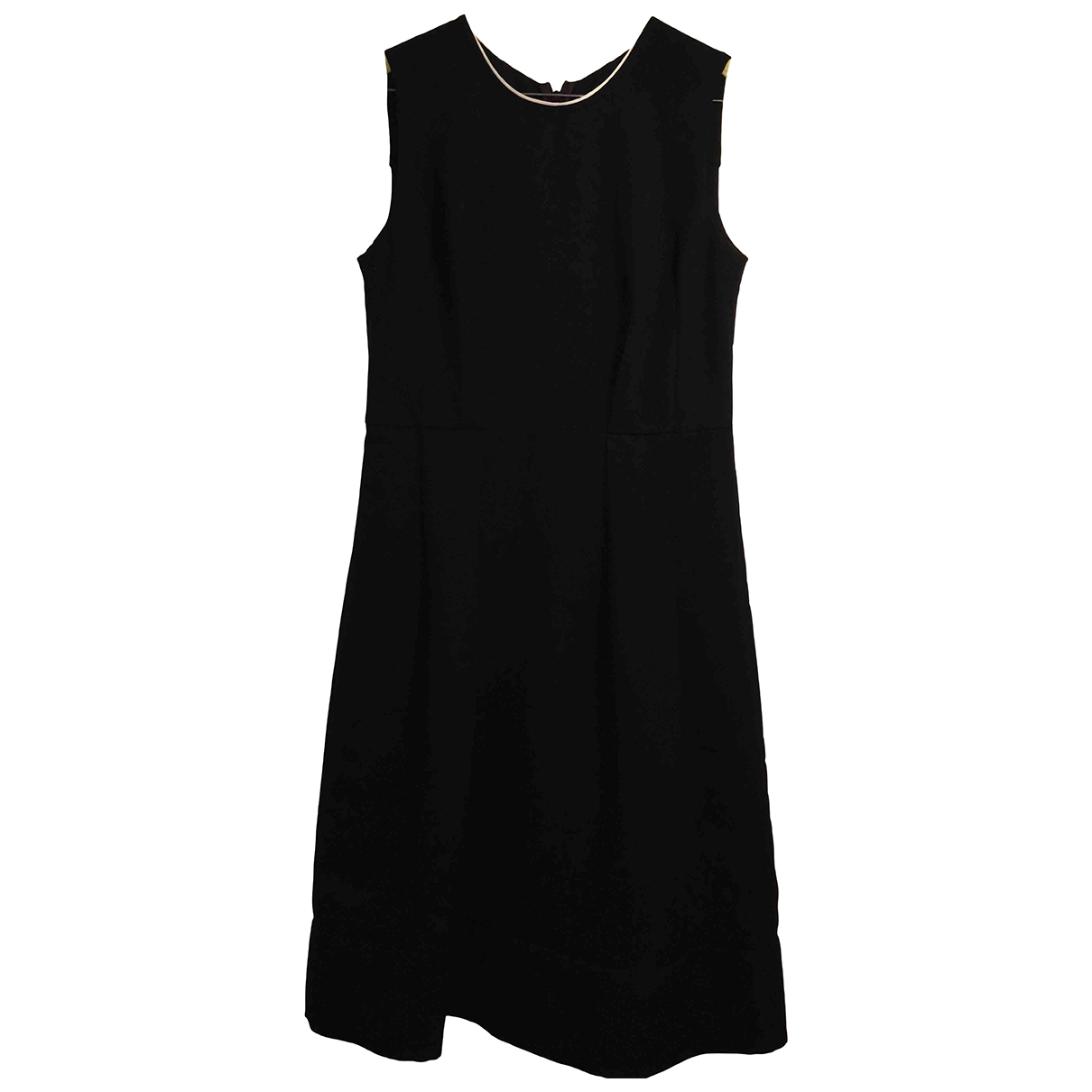 Marni \N Kleid in  Schwarz Polyester