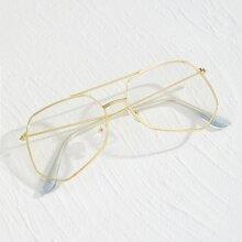 Maenner Brille mit Metall Rahmen
